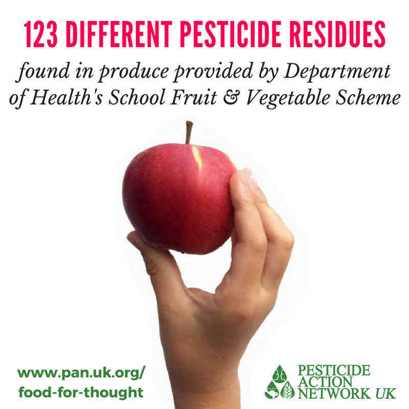 Food for Thought - Remove pesticides from the school menu