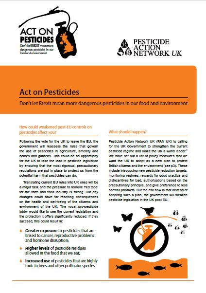 Act on Pesticides