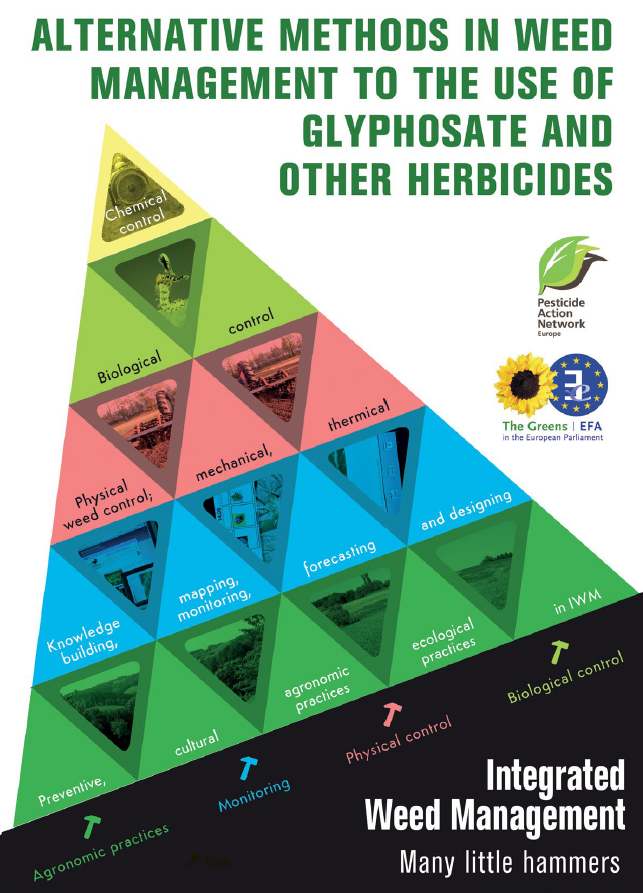 Alternatives to glyphosate in agricultural weed management