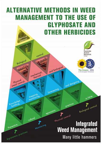 Alternatives to glyphosate as weed management