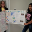 Anjali and Molly examine the pesticides in their food