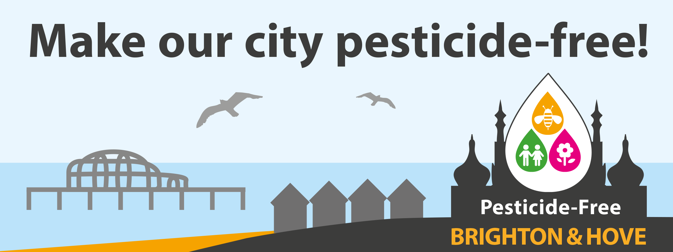 Ask candidates in the Brighton and Hove Council Elections to make our city pesticide-free