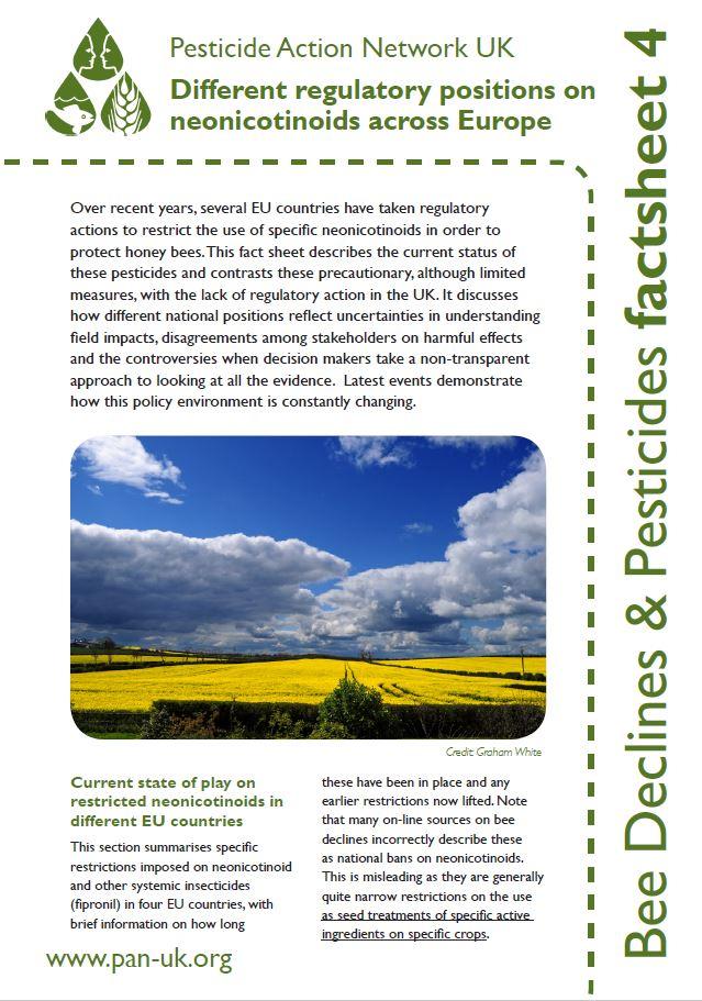 Bee Factsheet 4