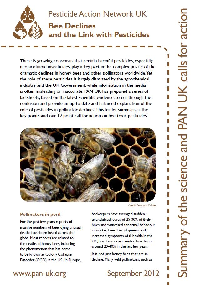 Bee Factsheet 9