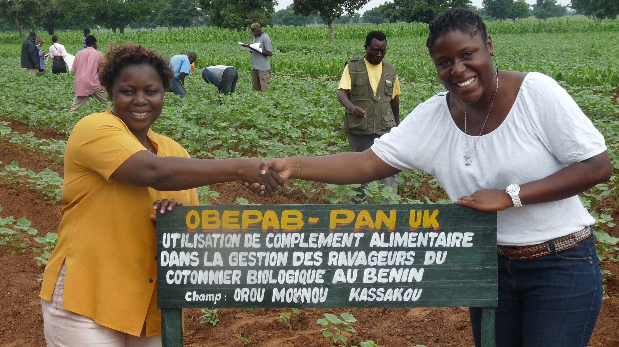 PAN UK in partnership with OBEPAB in Benin