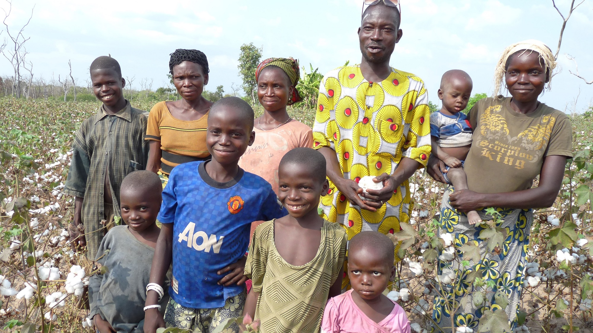 Working to better the livelihoods of cotton farmer families in Benin