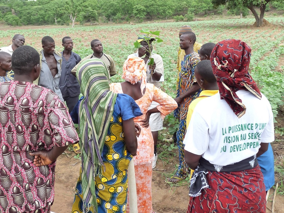 1,540 female farmers involved in our organic cotton project in Benin