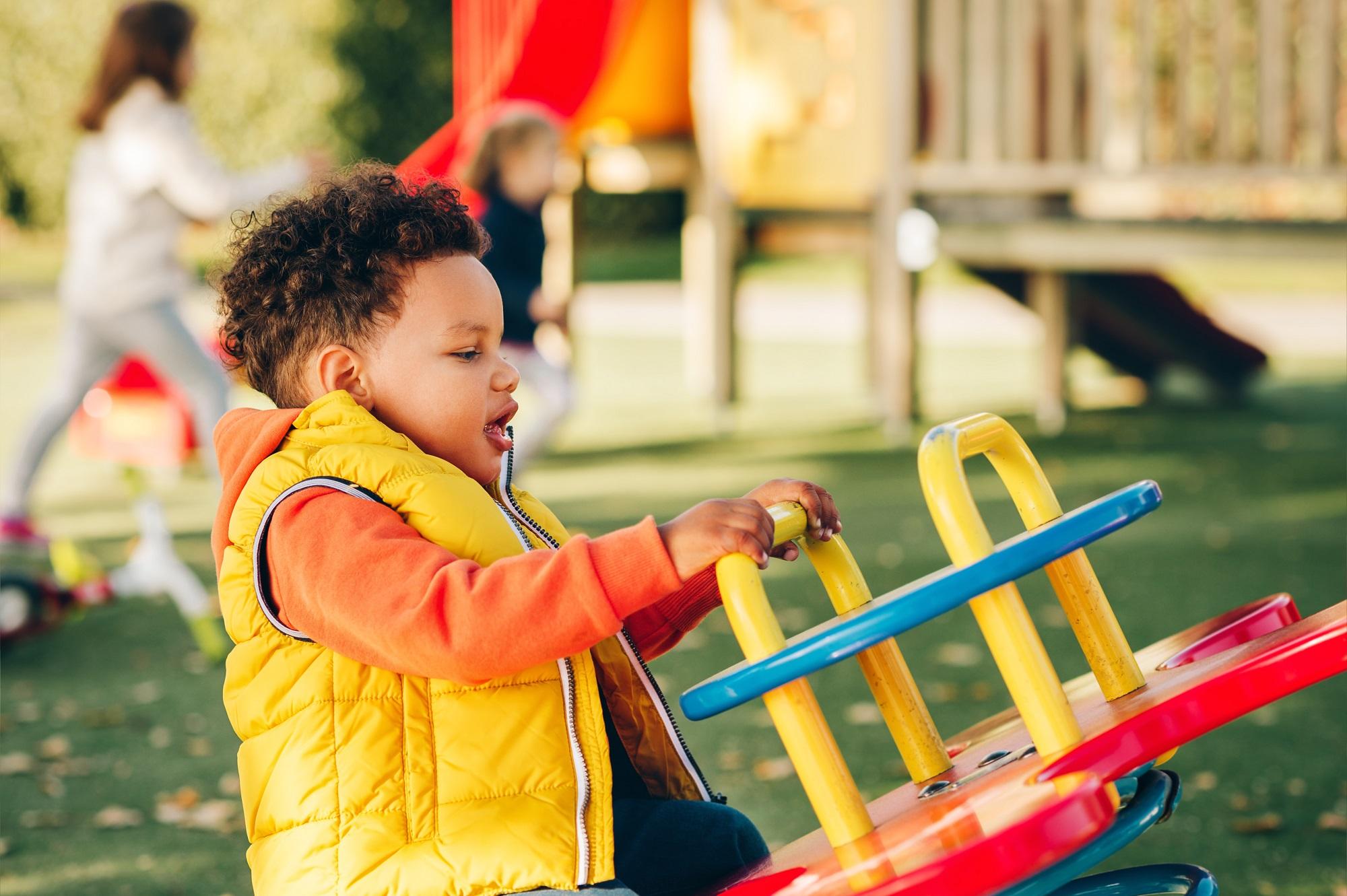 Agricultural pesticide drift contaminates children's playgrounds
