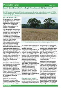 Our Vision for UK Agriculture Outside the EU