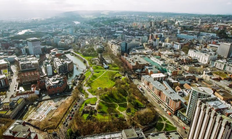 Bristol aerial view - Shutterstock