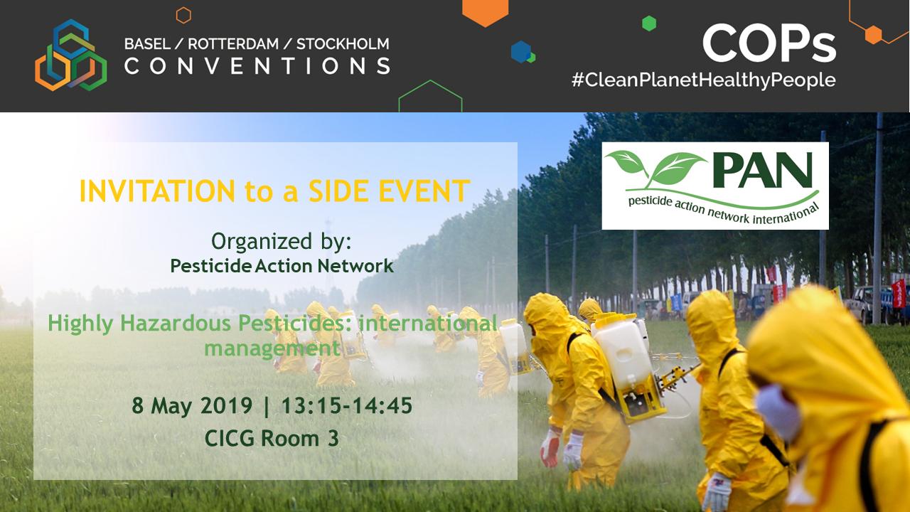 Highly Hazardous Pesticides - International Management