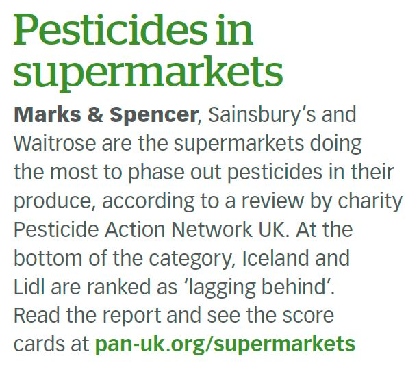 Gardeners' World - Pesticides in supermarkets
