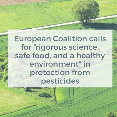 Coalition for pesticide regulation