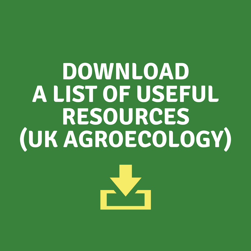 Download a list of useful resources and web links for UK agroecology