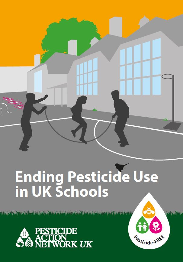 Download the leaflet on ending pesticide use in schools