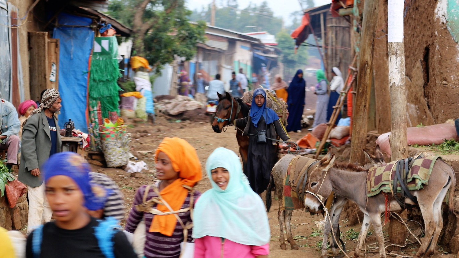 A village in Ethiopia