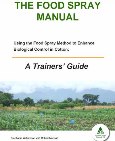 Food Spray Manual