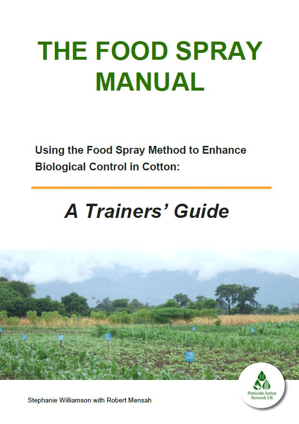Food Spray Training Manual