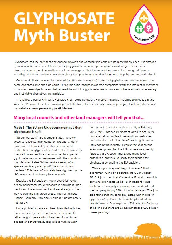 Glyphosate Myth Buster