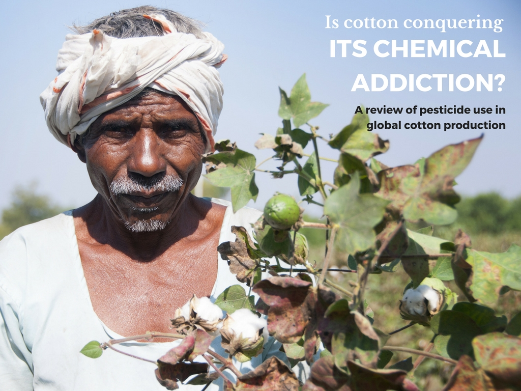 Is cotton conquering its chemical addiction - a review of pesticide use in global cotton production