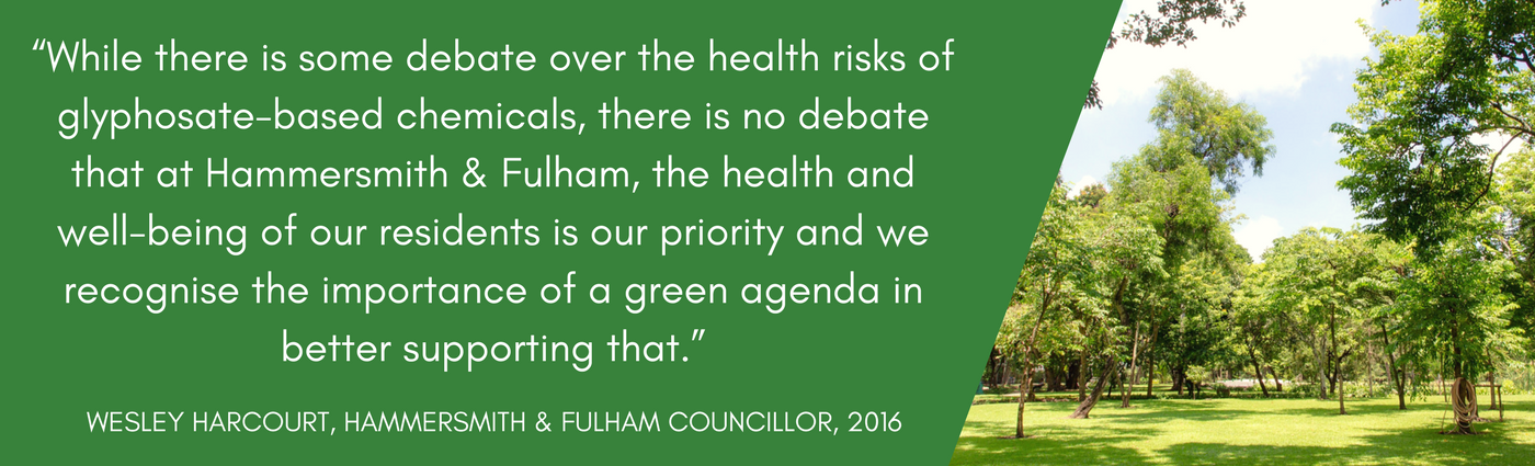 Hammersmith and Fulham statement on pesticides