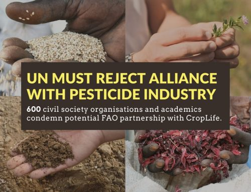 Is FAO in the pocket of the pesticide industry?