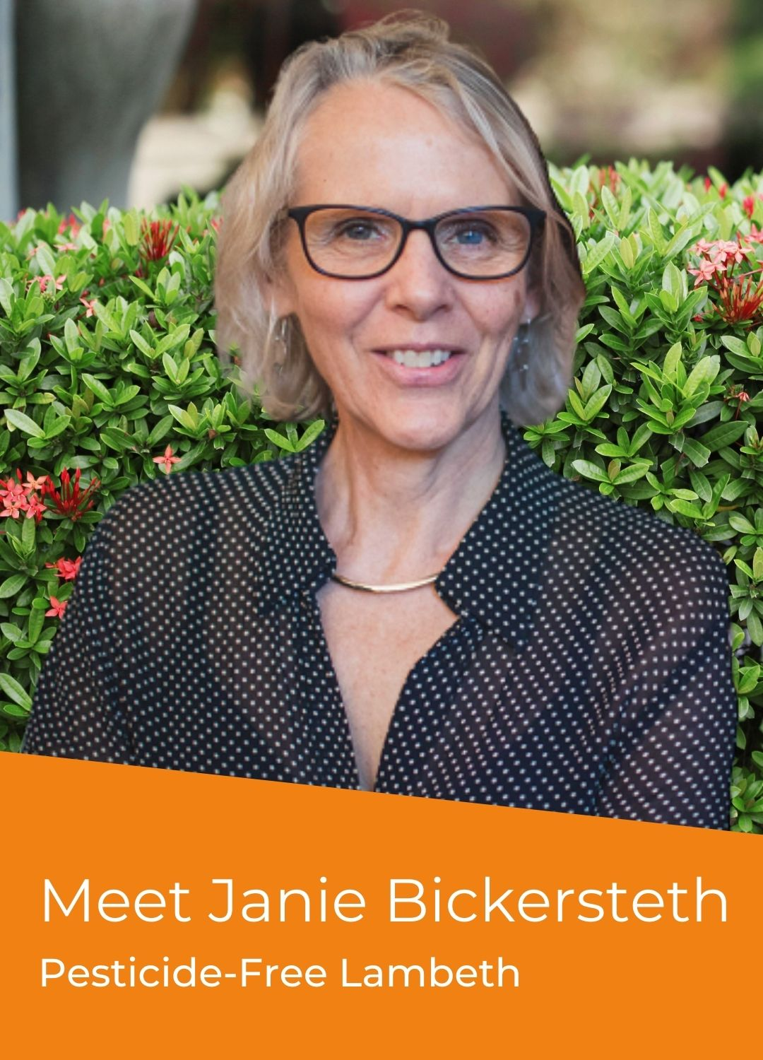 Janie Bickersteth - Campaigner Voices - Pesticide-Free Lambeth