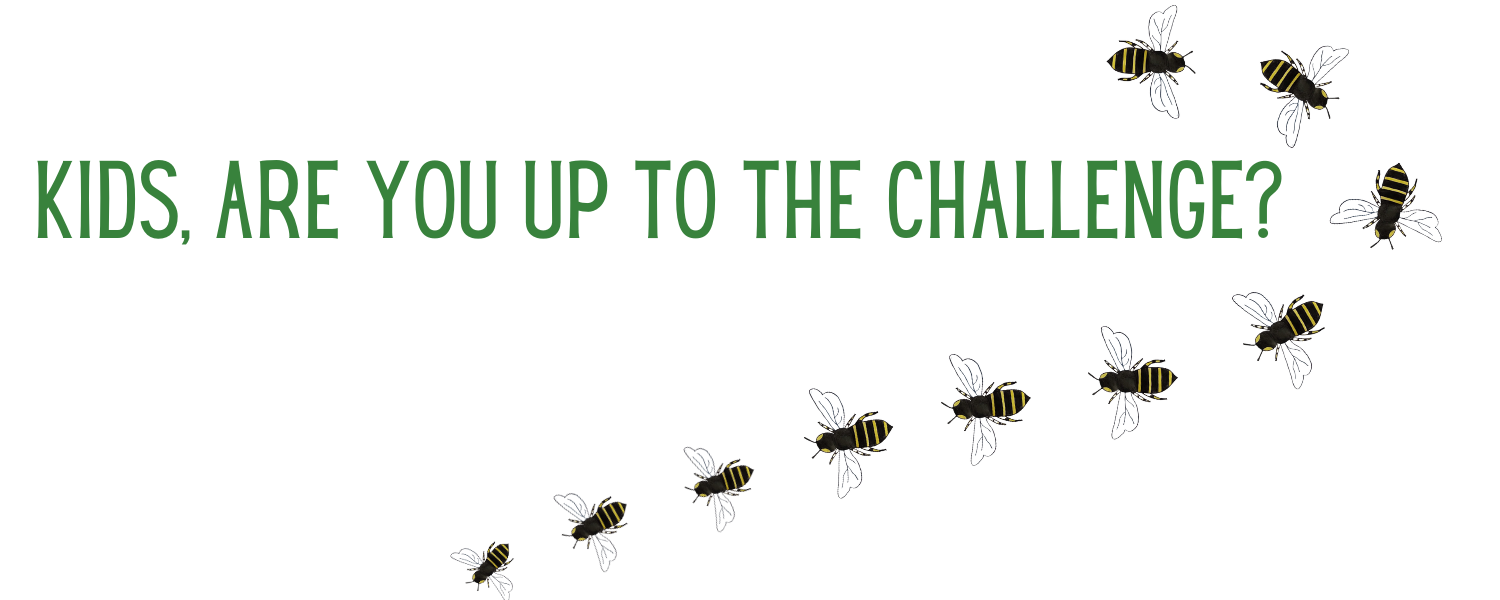 Kids, are you up for the pesticide-free challenge?