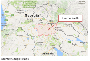 Kvemo Kartli Map