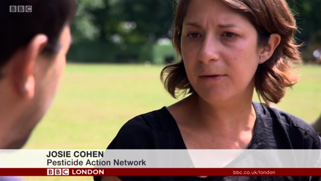 BBC Evening News - Should glyphosate be banned