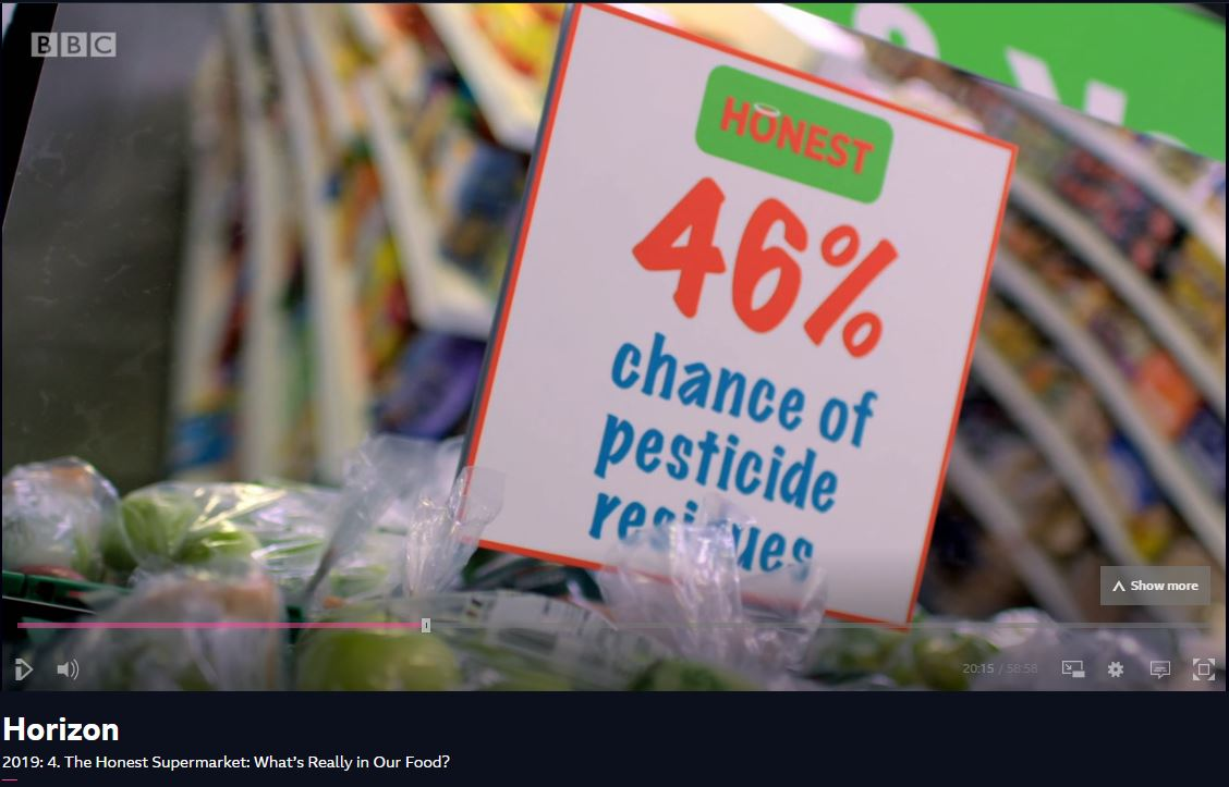 BBC Horizon: The Honest Supermarket - what's really in our food?