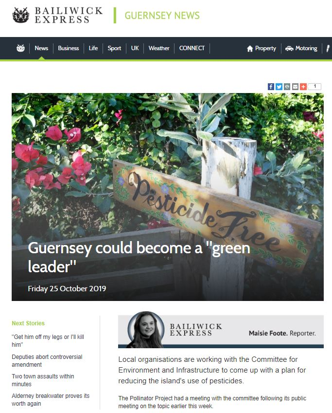 Bailiwick Express - Guernsey could become green leader