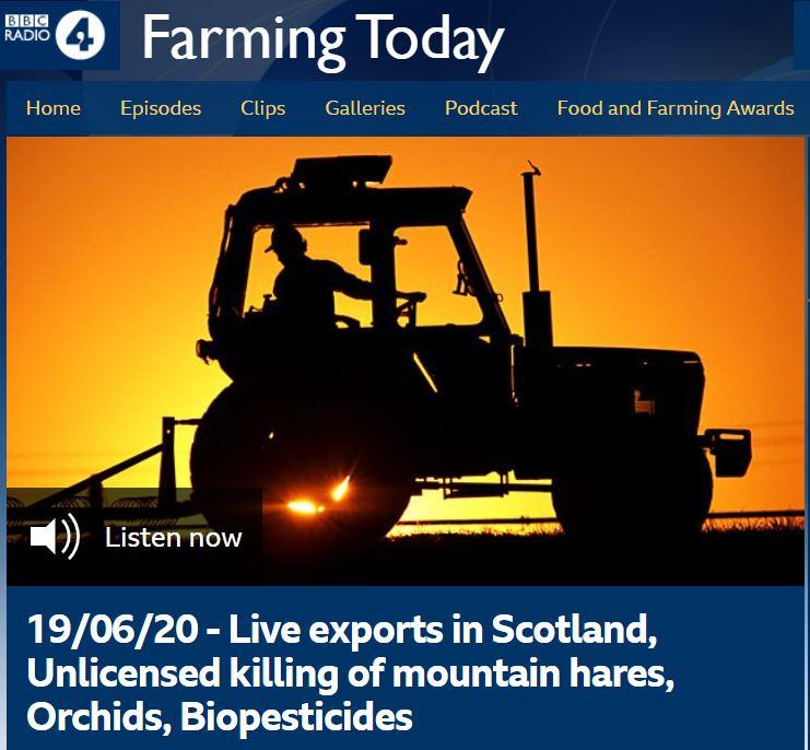 Farming Today - Biopesticides with Nick Mole