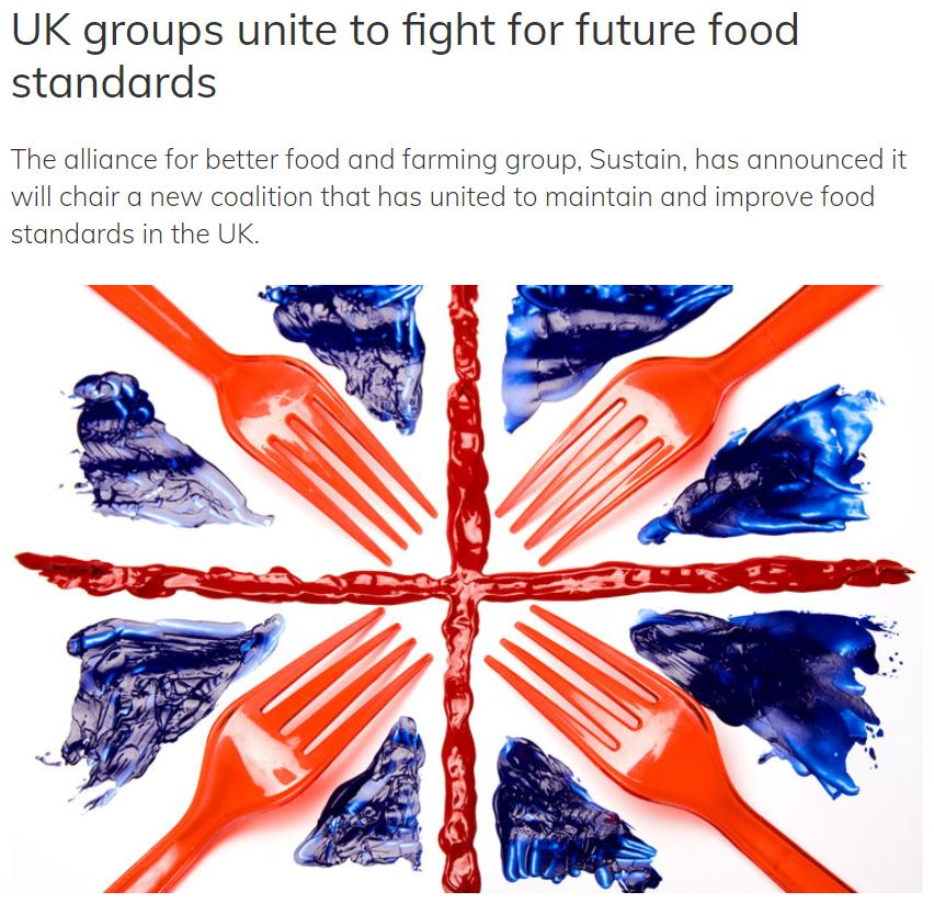 New Food Mag - UK groups unite to fight for future food standards