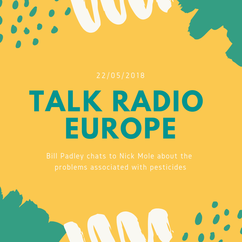 Talk Radio Europe - Nick Mole chats with Bill Padley