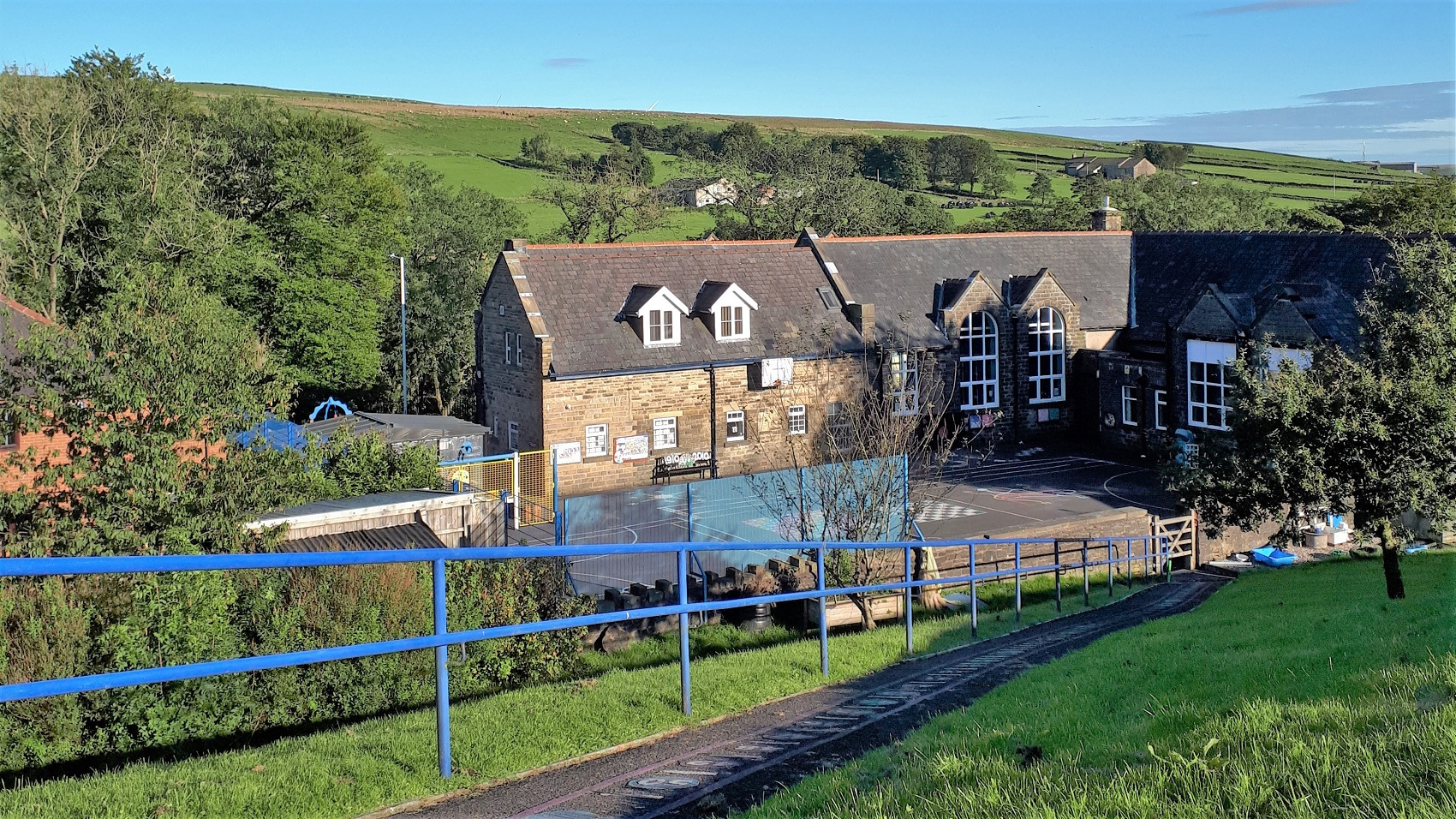 Northern County Primary School in Rossendale is pesticide-free