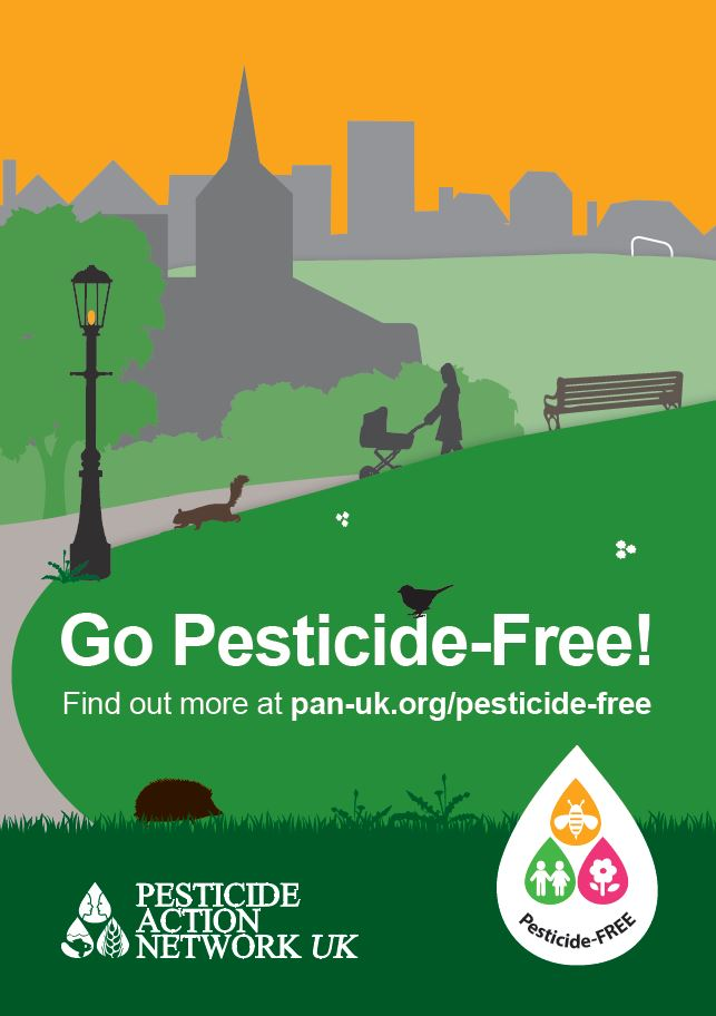 Pesticide Free Towns Campaign Poster