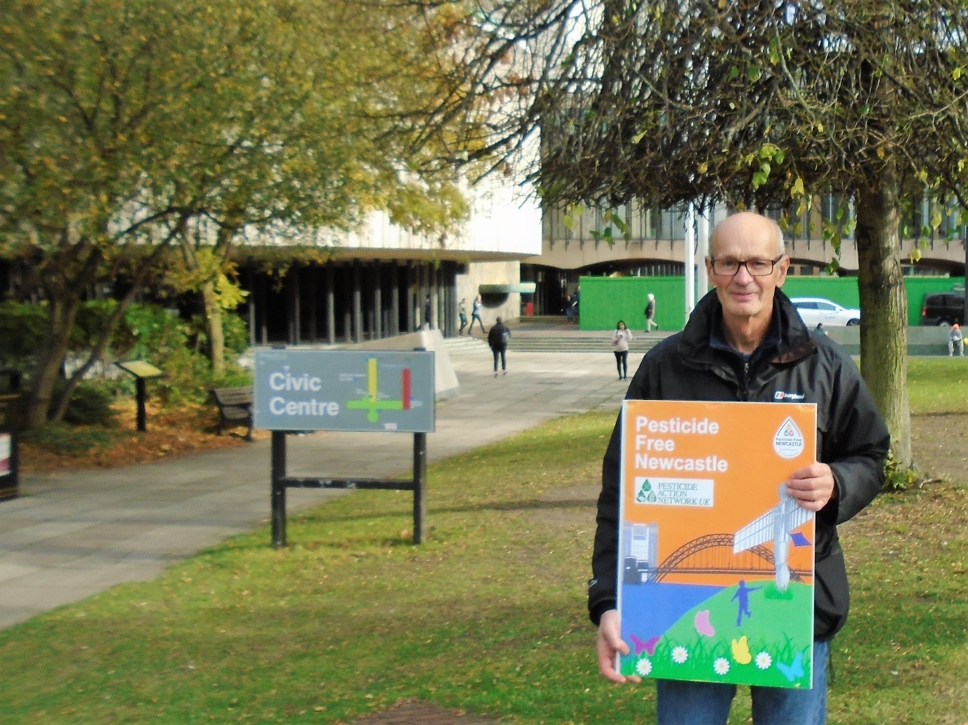 Pesticide-Free Newcastle campaign is launched
