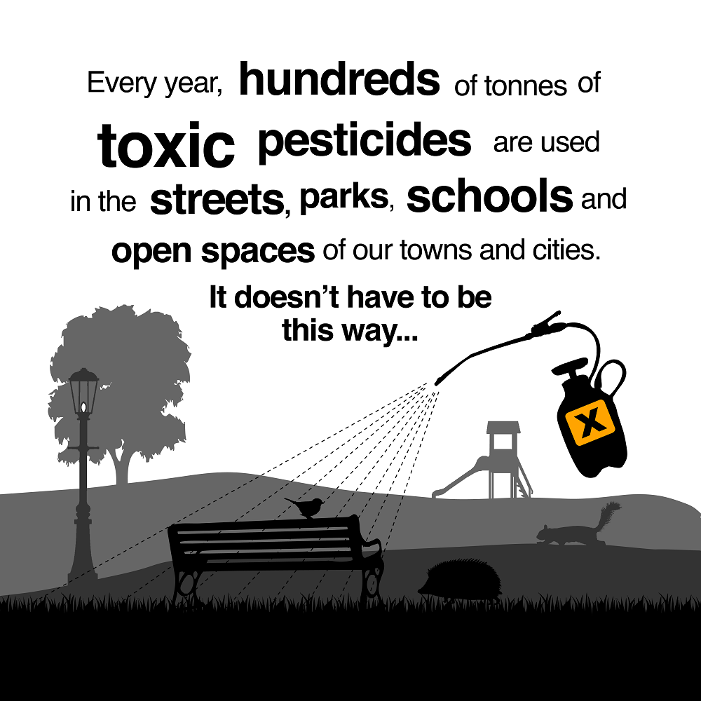 We want Pesticide-Free Towns