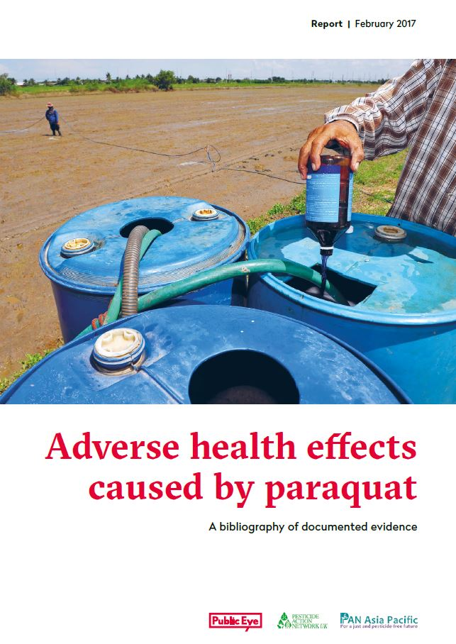 The Adverse Health Effects of Paraquat