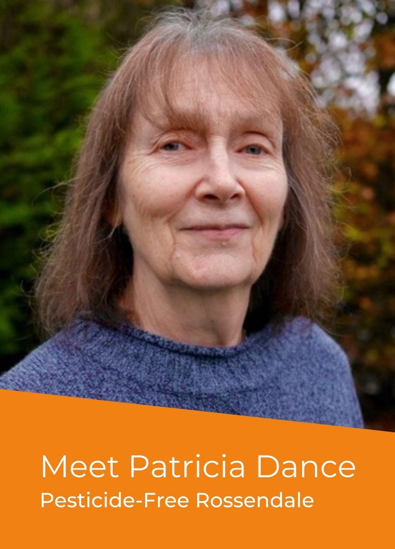 Patricia Dance - Campaigner for a Pesticide-Free Rossendale