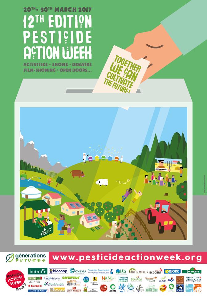 Pesticide Action Week Poster