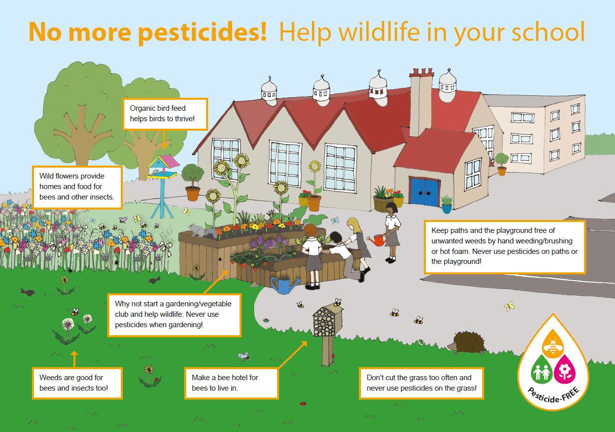 Pesticide-Free Schools Map