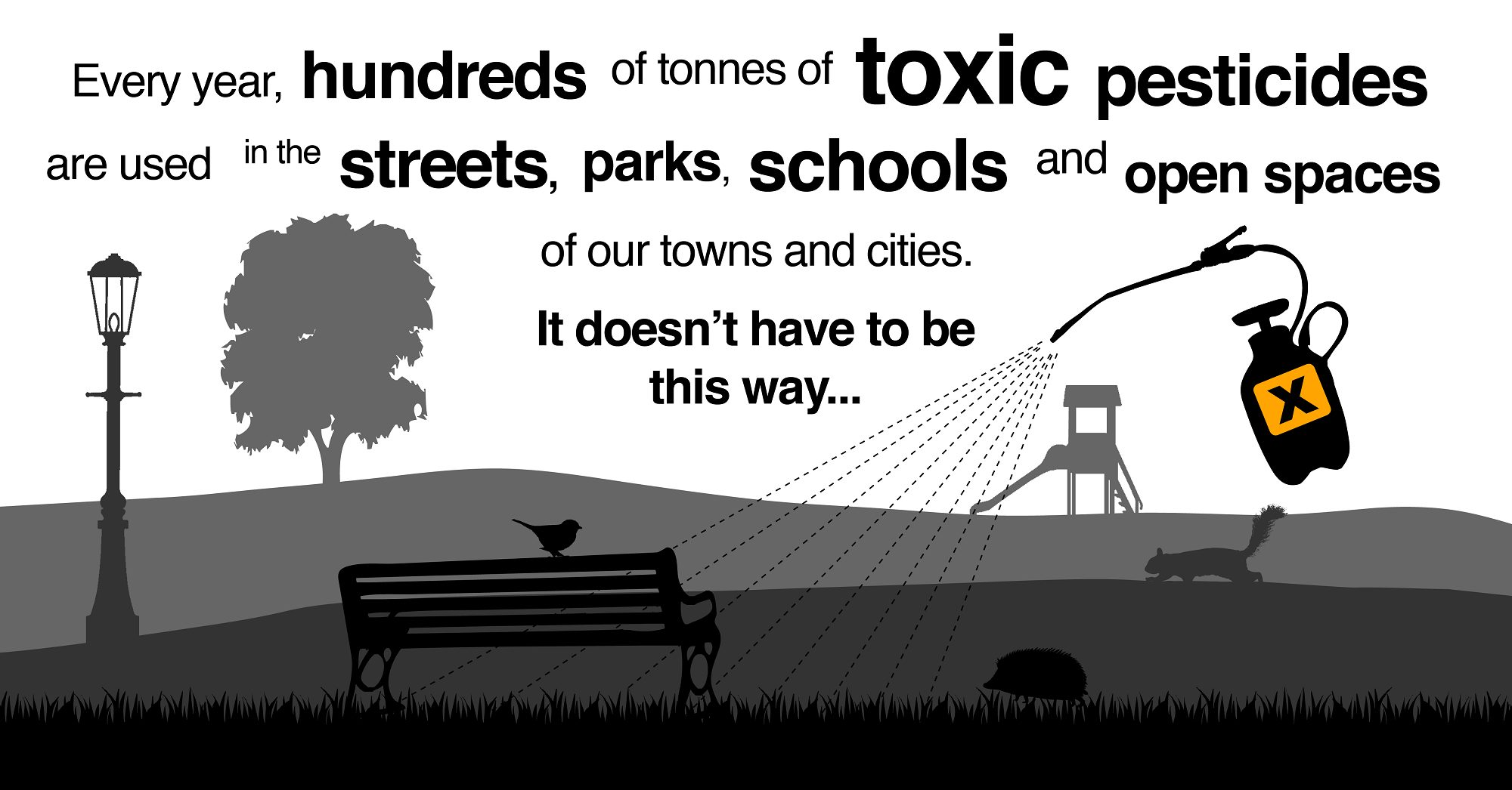 We want pesticide-free towns and cities - take action
