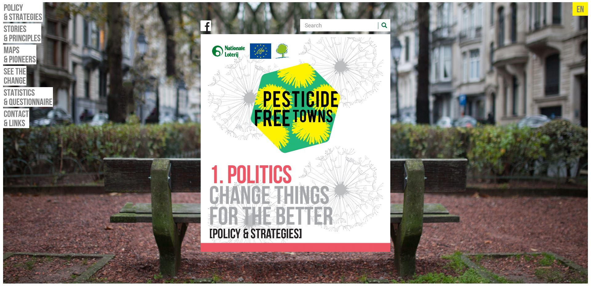 A Link to the Pesticide Free Towns Europe Website