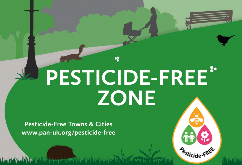 Download a 'Pesticide-free Zone' poster