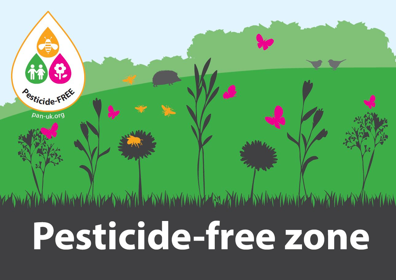 Pesticide-Free Zone Poster