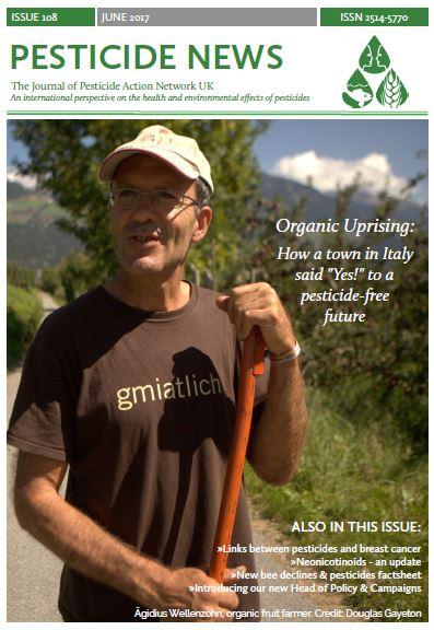 Pesticide News Issue 108 - June 2017