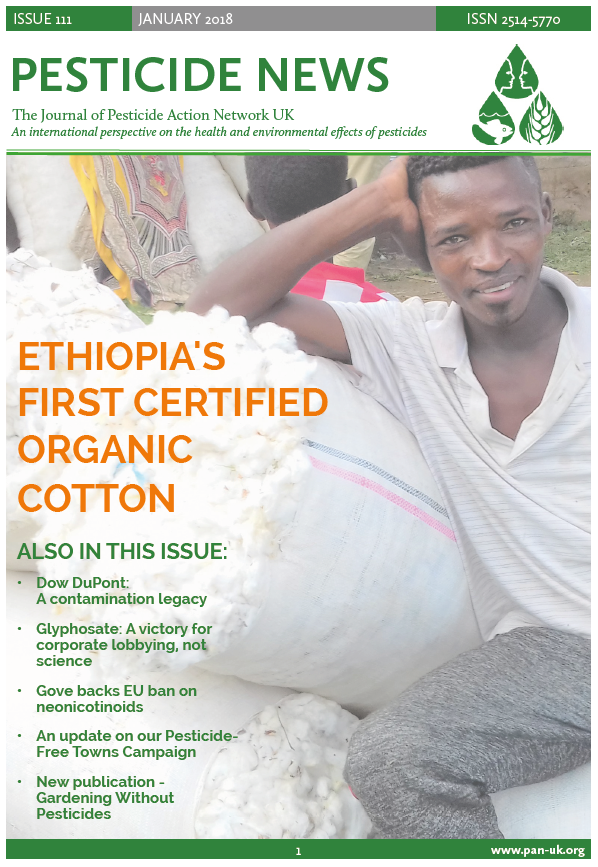 Pesticide News - Issue 111 - January 2018
