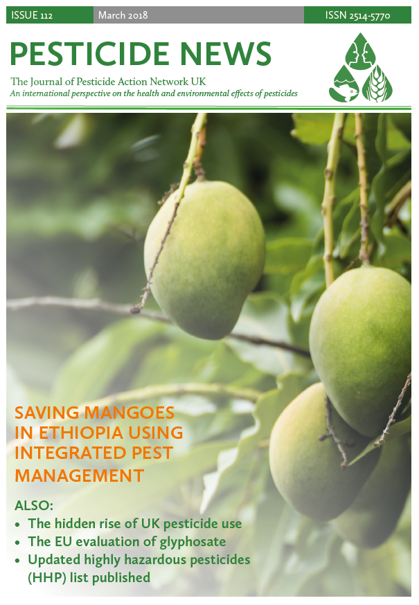 Pesticide News - Issue 112 - March 2018